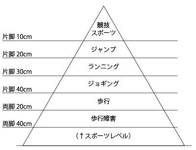 図8.立ち上がり能力によるスポーツレベル