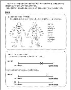 図1.アンケート 説明用紙